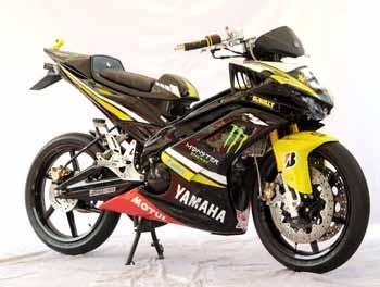 Modifikasi Yamaha New Jupiter MX 2010 – Moped Racing Look